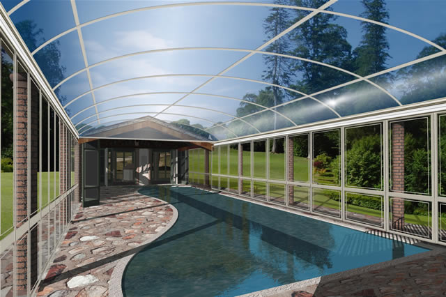 Summer / Winter Pool Structures