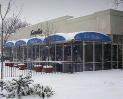 protect from Winter Storm Kayla with retractable roofs